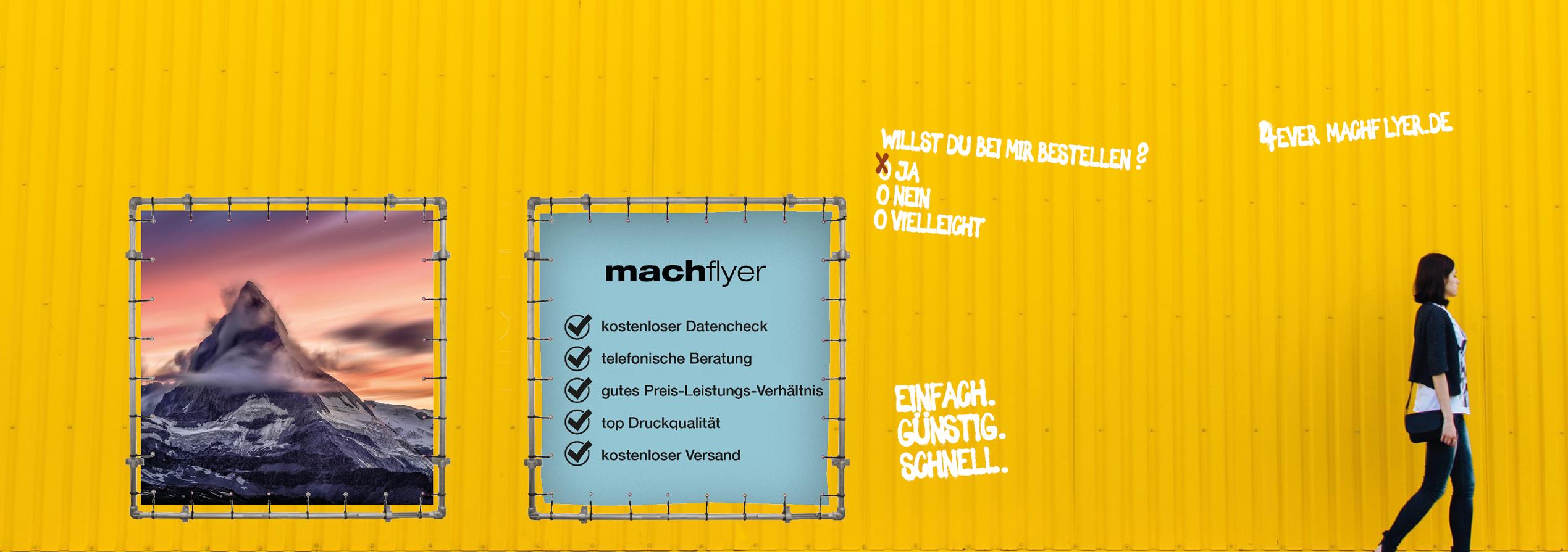 Machflyer Druckerei Aus Mainz Kostenloser Versand