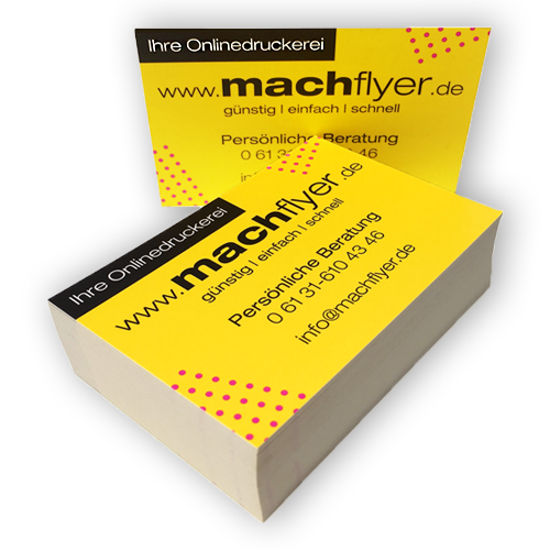 Machflyer Druckprodukte